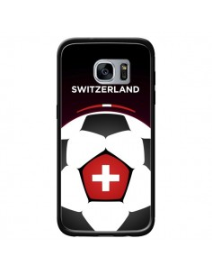 Coque Suisse Ballon Football pour Samsung Galaxy S7 - Madotta