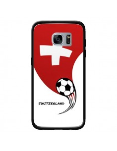 Coque Equipe Suisse Switzerland Football pour Samsung Galaxy S7 - Madotta