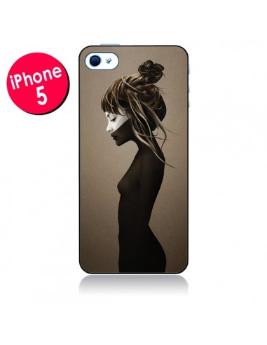 Coque Fille Pensive pour iPhone 5 - Ruben Ireland