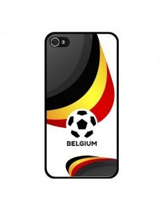 Coque Equipe Belgique Football pour iPhone 4 et 4S - Madotta