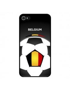 Coque Belgique Ballon Football pour iPhone 4 et 4S - Madotta