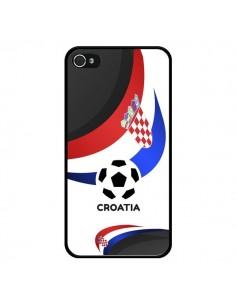 Coque Equipe Croatie Football pour iPhone 4 et 4S - Madotta