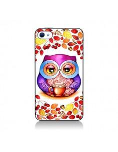 Coque Chouette Automne pour iPhone 4 et 4S - Annya Kai