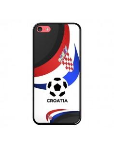 Coque Equipe Croatie Football pour iPhone 5C - Madotta