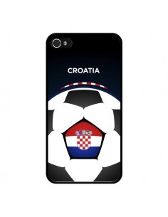 Coque Croatie Ballon Football pour iPhone 4 et 4S - Madotta