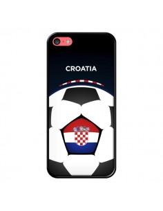 Coque Croatie Ballon Football pour iPhone 5C - Madotta