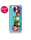 Coque Famille Chouettes pour iPhone 5 - Annya Kai
