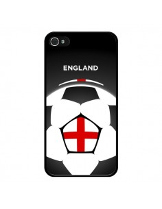 Coque Angleterre Ballon Football pour iPhone 4 et 4S - Madotta