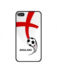 Coque Equipe Angleterre England Football pour iPhone 4 et 4S - Madotta