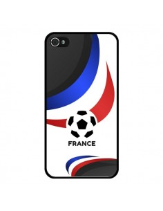 Coque Equipe France Football pour iPhone 4 et 4S - Madotta