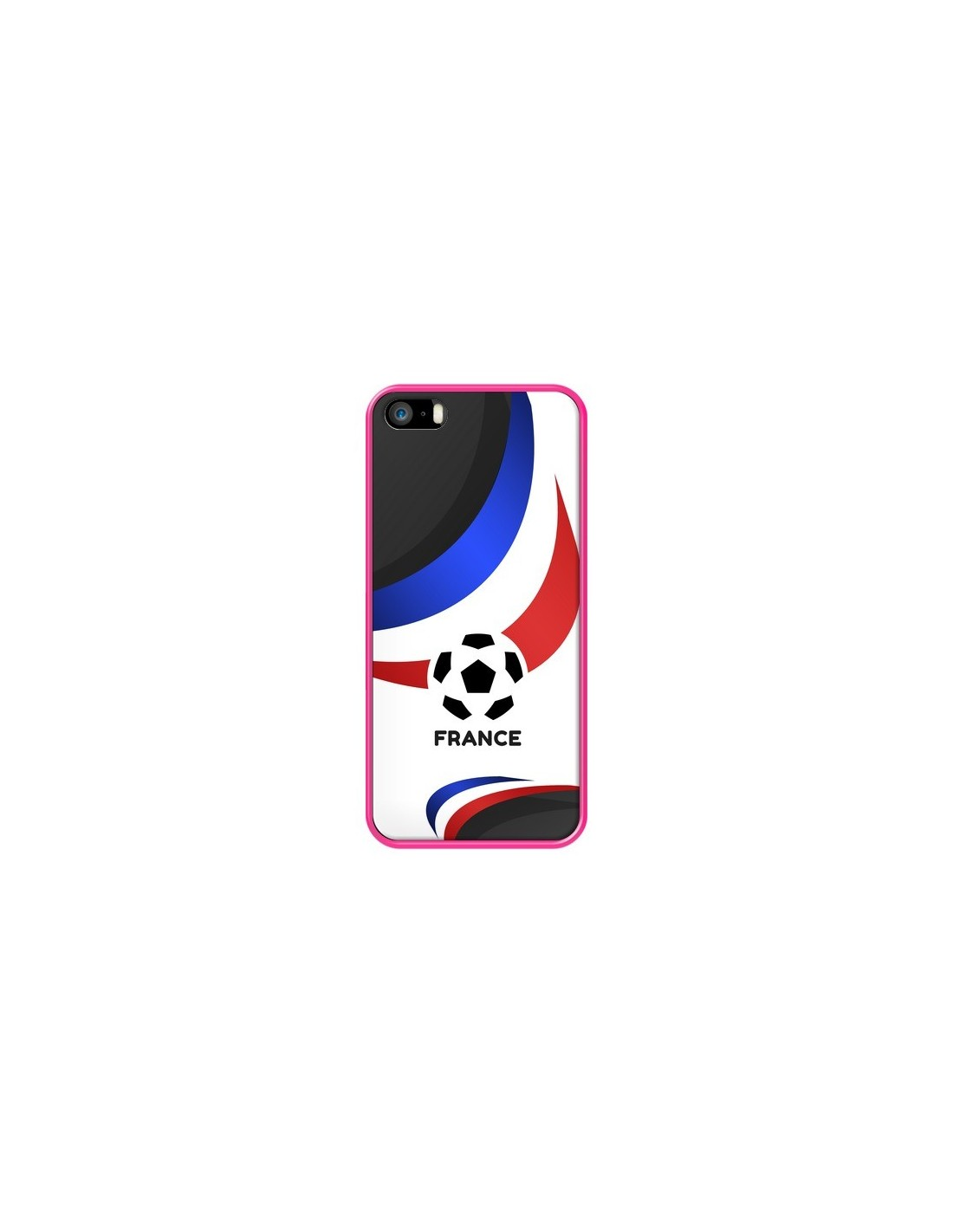 coque equipe france football pour iphone 5 5s et se madotta. Black Bedroom Furniture Sets. Home Design Ideas