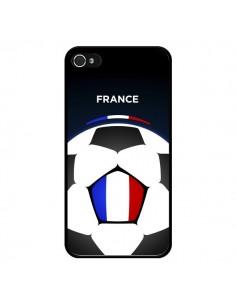 Coque France Ballon Football pour iPhone 4 et 4S - Madotta
