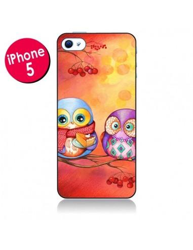Coque Chouette Arbre pour iPhone 5 - Annya Kai