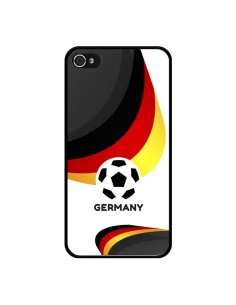 Coque Equipe Allemagne Football pour iPhone 4 et 4S - Madotta