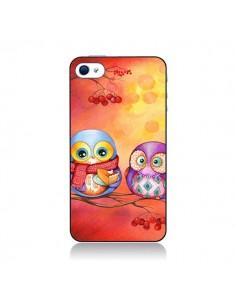 Coque Chouette Arbre pour iPhone 4 et 4S - Annya Kai