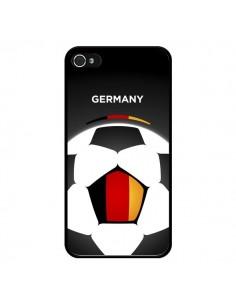 Coque Allemagne Ballon Football pour iPhone 4 et 4S - Madotta