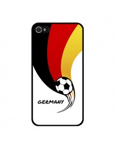 Coque Equipe Allemagne Germany Football pour iPhone 4 et 4S - Madotta