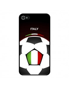 Coque Italie Ballon Football pour iPhone 4 et 4S - Madotta