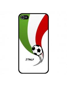 Coque Equipe Italie Italia Football pour iPhone 4 et 4S - Madotta