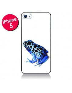 Coque Grenouille Bleue pour iPhone 5 - Annya Kai
