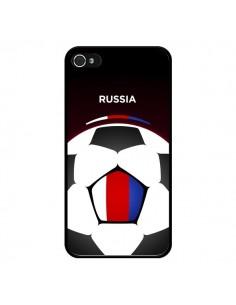 Coque Russie Ballon Football pour iPhone 4 et 4S - Madotta