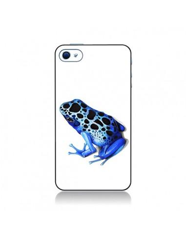 Coque Grenouille Bleue pour iPhone 4 et 4S - Annya Kai