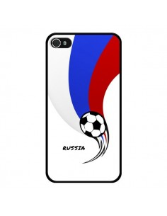 Coque Equipe Russie Russia Football pour iPhone 4 et 4S - Madotta