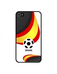 Coque Equipe Espagne Football pour iPhone 4 et 4S - Madotta