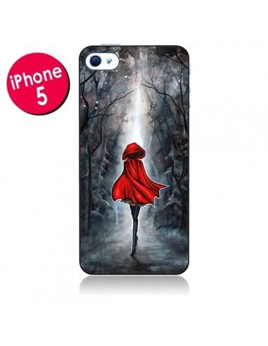 Coque Le Petit Chaperon Rouge Bois pour iPhone 5 - Annya Kai