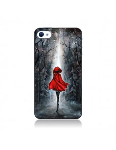 Coque Le Petit Chaperon Rouge Bois pour iPhone 4 et 4S - Annya Kai
