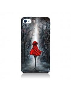 Coque Le Petit Chaperon Rouge Bois pour iPhone 4 et 4S - Annya Kai