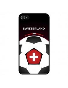 Coque Suisse Ballon Football pour iPhone 4 et 4S - Madotta
