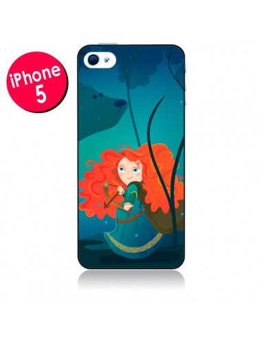 Coque Rebelle Brave pour iPhone 5 - Maria Jose Da Luz