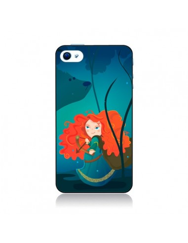 Coque Rebelle Brave pour iPhone 4 et 4S - Maria Jose Da Luz