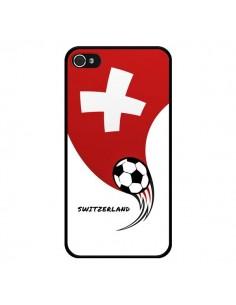 Coque Equipe Suisse Switzerland Football pour iPhone 4 et 4S - Madotta