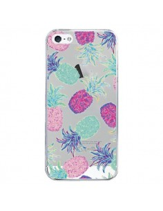Coque Ananas Pineapple Fruit Ete Summer Transparente pour iPhone 5/5S et SE - Lisa Argyropoulos