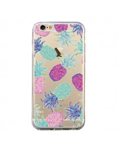 Coque Ananas Pineapple Fruit Ete Summer Transparente pour iPhone 6 et 6S - Lisa Argyropoulos