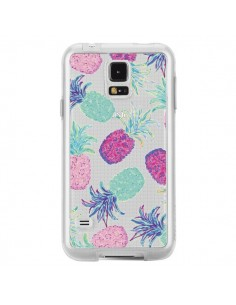 Coque Ananas Pineapple Fruit Ete Summer Transparente pour Samsung Galaxy S5 - Lisa Argyropoulos