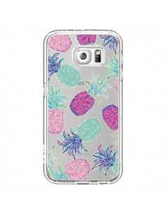 Coque Ananas Pineapple Fruit Ete Summer Transparente pour Samsung Galaxy S6 - Lisa Argyropoulos