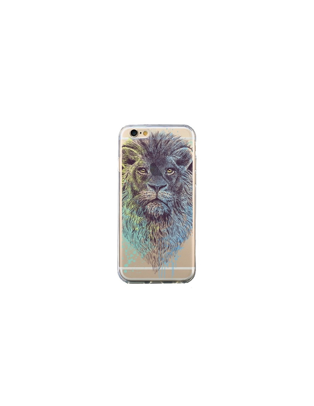 coque iphone 6 et 6s roi lion king transparente rachel caldwell