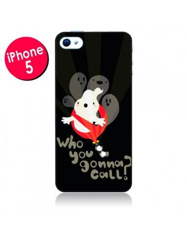 Coque SOS Fantomes pour iPhone 5 - Maria Jose Da Luz