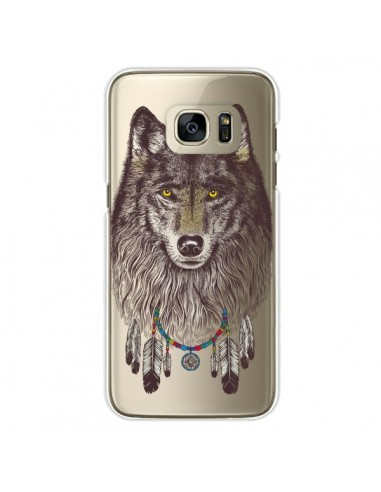 coque loup wolf attrape reves transparente pour samsung galaxy s7 edge rachel caldwell. Black Bedroom Furniture Sets. Home Design Ideas