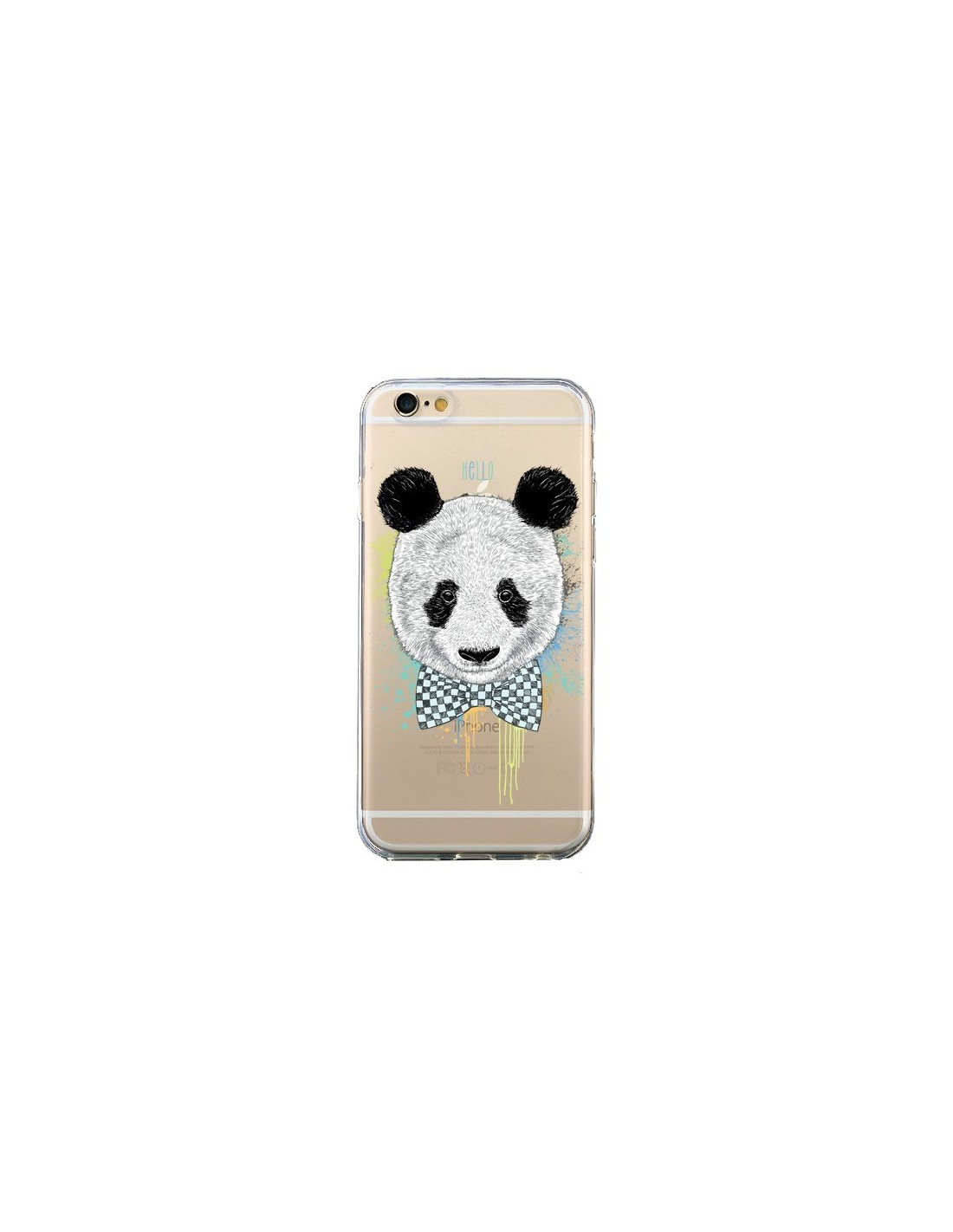 coque transparente iphone 6 panda