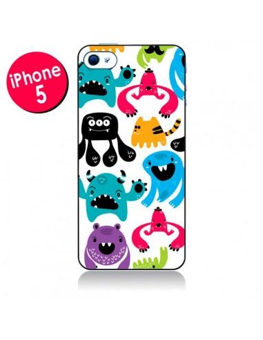 Coque Monstres pour iPhone 5 - Maria Jose Da Luz