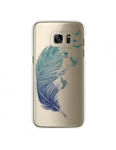 coque galaxy s6 plume
