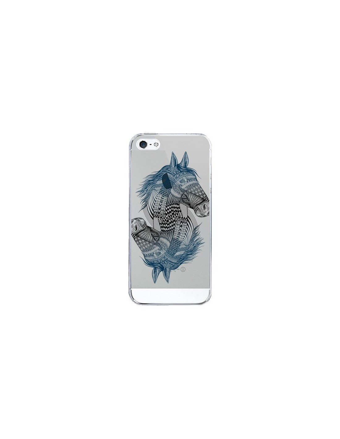 coque iphone 5 5s se cheval horse double transparente 5s et se rachel caldwell