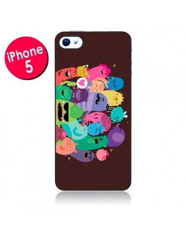 Coque Monstres 2 pour iPhone 5 - Maria Jose Da Luz