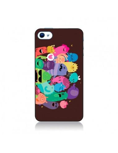 Coque Monstres 2 pour iPhone 4 et 4S - Maria Jose Da Luz