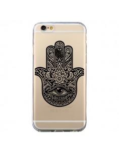 Coque Hamsa Cinq Doigts Main Mauvais Oeil Transparente pour iPhone 6 et 6S - Rachel Caldwell