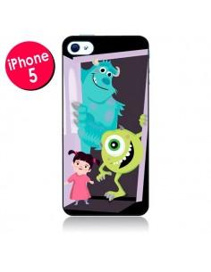 Coque Monstres et Compagnie pour iPhone 5 - Maria Jose Da Luz